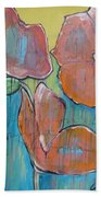 Poppies 3 Beach Towel