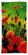 Poppies Poppies  Beach Towel