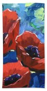Poppies Splender Beach Towel
