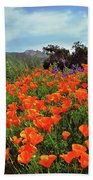 Poppy Explosion Beach Towel