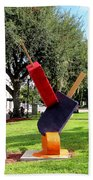 Popsicles In The Park 000 Beach Towel