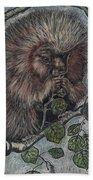 Porcupine In Aspen Beach Towel