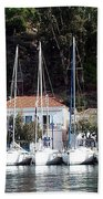 Poros Greece Beach Towel
