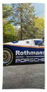 Porsche 962c Beach Towel