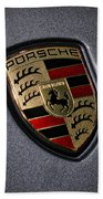 Porsche Beach Towel by Gordon Dean II