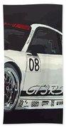 Porsche Gt3 Rsr Beach Towel