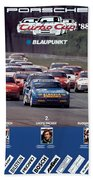 Porsche Turbo Cup 1988 Beach Towel
