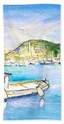 Port Andratx 01 Beach Towel