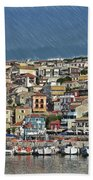 Port City Parga Greece - Dwp1163344 Beach Towel