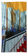 Port Of Call Beach Towel