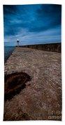 Port Of Newcastle Beach Towel