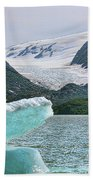 Porter Glacier Alaska  Beach Towel