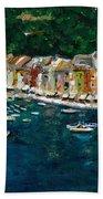 Portifino Italy Beach Towel