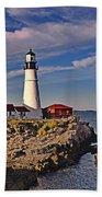 Portland Lighthouse Beach Towel