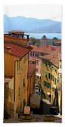 Portoferraio Elba Beach Towel