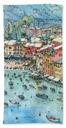 Portofino Beach Towel