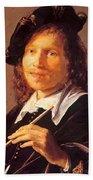 Portrait Of A Man 1640 Beach Towel