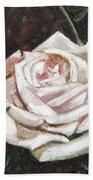Portrait Of A Rose 3 Beach Towel