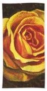 Portrait Of A Rose 5 Beach Towel