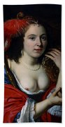 Portrait Of Anna Du Pire As Granida Beach Towel