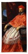 Portrait Of Cardinal Roberto Ubaldini 1625 Beach Towel