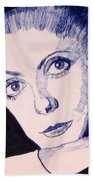 Portrait Of Catherine Beach Towel