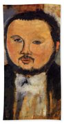 Portrait Of Diego Rivera 1914 Beach Towel