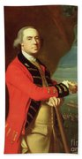 Portrait Of General Thomas Gage Beach Towel