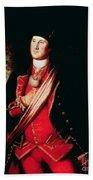 Portrait Of George Washington Beach Towel