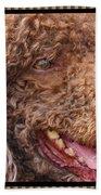 Portrait Of Guinness Beach Towel