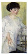 Portrait Of Madame Frieseke Beach Towel