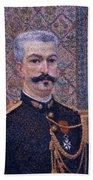 Portrait Of Monsieur Pool 1887 Beach Towel