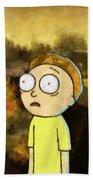 Portrait Of Morty Beach Towel