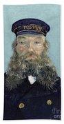 Portrait Of Postman Roulin Beach Sheet