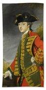 Portrait Of Sir Gerard Napier Beach Sheet