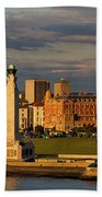 Portsmouth And Southsea England  Beach Towel