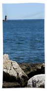Portsmouth Harbor Lighthouse Beach Towel