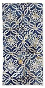Portuguese Glazed Tiles Beach Towel