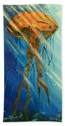 Portuguese Man Of War Beach Towel