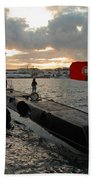 Portuguese Navy Submarine Beach Towel