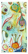 Possibilities Beach Towel by Jennifer Lommers