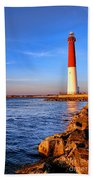 Postcard From Barnegat  Beach Towel