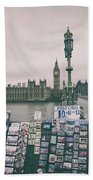 Postcards From Westminster Beach Towel