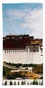 Potala Palace Dalai Lama Home Place. Tibet Kailash Yantra.lv 2016  Beach Towel