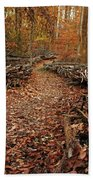 Potomac Heritage Trail Beach Towel