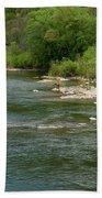 Potomac River Beach Towel