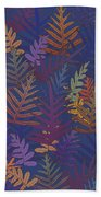 Potter's Clay Ferns Beach Towel by Karen Dyson