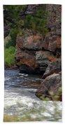 Poudre River 6 Beach Towel