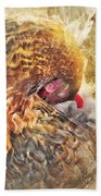 Poultry Passion Beach Towel