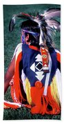 Pow-wow Colors Beach Towel
